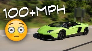 100+ MPH with the Lamborghini by Evan Shanks