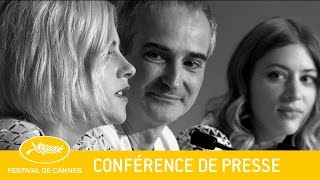Nonton PERSONAL SHOPPER - Press Conference - EV - Cannes 2016 Film Subtitle Indonesia Streaming Movie Download