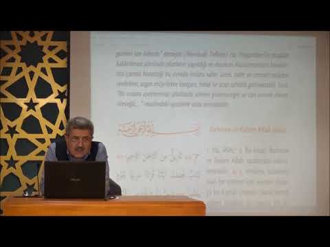 Tuncer Namlı - Fussilet Suresi (1 -25) Ayetlerin Tefsiri