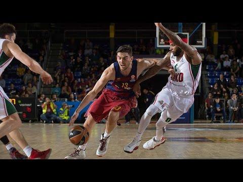 Highlights: RS Round 5, FC Barcelona Lassa 72-68 Lokomotiv Kuban Krasnodar