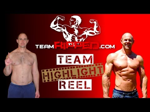 teamRIPPED Highlight Reel – P90X, Insanity, Body Beast: Before & After