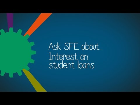 Practitioners: Ask SFE about interest on student loans 2017/18
