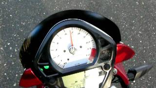 10. Suzuki SV 650 N Speed ​​dial to maximum