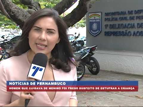 [BRASIL URGENTE PE] Suspeito de estuprar criança no Vasco da Gama foi preso