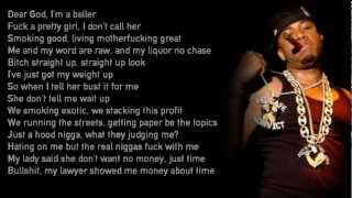 Red Cafe - Champagne For The Pain ft. Young Jeezy (Lyrics)