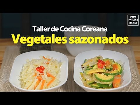 Peso ideal - Receta ideal para perder peso: Namul banchan (vegetales sazonados)