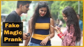 image of Fake Magic Prank On Cute Girls - Prank In India | The HunGama Films
