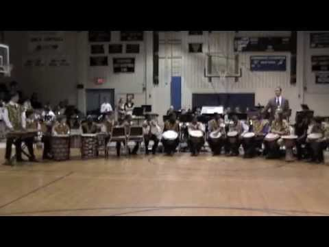 East Millbrook Middle School African Drum Ensemble