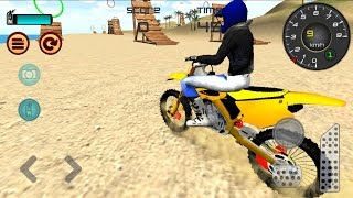 Video Motocross Beach Jumping 3D - Android GamePlay HD - Extreme Motor Bike Stunts Games For Kids MP3, 3GP, MP4, WEBM, AVI, FLV Juni 2018