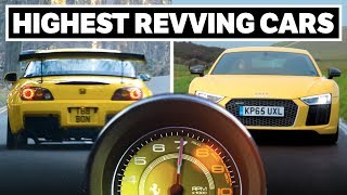 Engines that love to rev high are one of the many things that make great cars legendary cars. Here are some of our favourites!SUBSCRIBE: http://bit.ly/CTSubscribeVISIT OUR SHOP: https://shop.carthrottle.com/SNAPCHAT! http://bit.ly/CTSNAP----- Follow Car Throttle -----Subscribe to Car Throttle: http://bit.ly/CTSubscribeOn our website: http://www.carthrottle.comOn Facebook: http://www.facebook.com/carthrottleOn Twitter: http://www.twitter.com/carthrottle----- Music by -----Tom Kent: http://www.tomkentmusic.co.ukYouTube: http://youtube.com/tomkentmusic----- Credits -----Special thanks to…PerformanceCarshttps://www.youtube.com/channel/UCwGEYV95-sEqU4YMR3Ha6lwDC2 Integrahttps://www.youtube.com/watch?v=GHHgYlWhZ5QHonda S600https://upload.wikimedia.org/wikipedia/commons/c/cd/1965_Honda_S600_Coupe.jpghttps://upload.wikimedia.org/wikipedia/commons/6/66/Honda_S600.jpghttps://upload.wikimedia.org/wikipedia/commons/6/64/1965_Honda_S600_Coupe_rear.jpghttps://upload.wikimedia.org/wikipedia/commons/e/e9/Honda_S600_Cabrio_02.jpghttps://upload.wikimedia.org/wikipedia/commons/thumb/d/d3/HondaS600-002.jpg/1280px-HondaS600-002.jpghttps://upload.wikimedia.org/wikipedia/commons/5/57/Honda_S600_Cabrio.jpghttps://upload.wikimedia.org/wikipedia/commons/thumb/c/ca/Honda_S600_dutch_licence_registration_AM-40-53_pic3.JPG/1022px-Honda_S600_dutch_licence_registration_AM-40-53_pic3.JPGSuzuki Cappuccino Videohttps://www.youtube.com/watch?v=dLAG0vZfwcQRX8 rev counterhttps://www.youtube.com/watch?v=_qp4-M2YtPYRX8 Night Walkaroundhttps://www.youtube.com/watch?v=lpzHwgZG47QAlfa Romeo 33 Stradalehttps://upload.wikimedia.org/wikipedia/commons/d/d5/Alfa_Romeo_Tipo_33_Stradale_Front.jpghttps://upload.wikimedia.org/wikipedia/commons/0/05/Alfa_Romeo_Tipo_33_Stradale_Rear.jpghttps://upload.wikimedia.org/wikipedia/commons/thumb/4/45/1968_Alfa_Romeo_Tipo_33_Stradale_-_Flickr_-_edvvc.jpg/1280px-1968_Alfa_Romeo_Tipo_33_Stradale_-_Flickr_-_edvvc.jpghttps://pixabay.com/en/alfa-romeo-milan-car-racing-2326538/https://upload.wikimedia.org/wikipedia/commons/8/84/Alfa_Romeo_33_Stradala_Prototyp_1967_red_vr2_TCE.jpghttps://c1.staticflickr.com/5/4075/4771935849_4f132d8481_b.jpgNissan Silviahttps://upload.wikimedia.org/wikipedia/commons/1/10/Nissan_Silvia_S15_001.JPGLFAhttps://www.youtube.com/watch?v=Qag9eKGFDegHayabusahttps://upload.wikimedia.org/wikipedia/commons/6/6e/Gen1Hayabusa.jpgStandard Atomhttps://upload.wikimedia.org/wikipedia/commons/8/8a/ArielAtomGoodwood.jpg