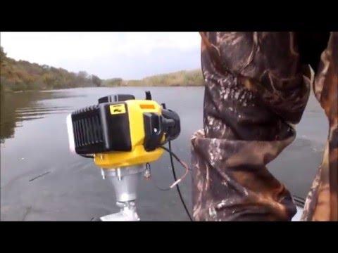 лодочный мотор плавают обороты