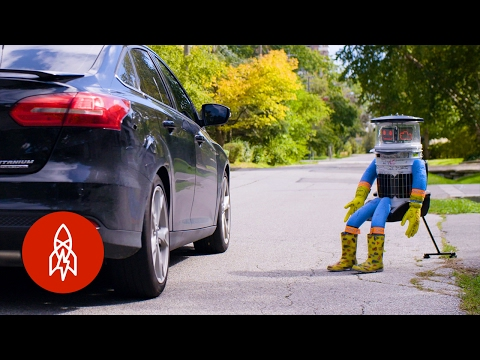 How the Hitchbot Robot Hitchhiked Across Canada All by