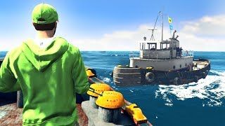 GTA 5 PIRATES EDITION!
