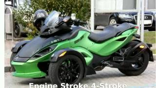 2. 2012 Can-Am Spyder Roadster RS-S Details and Specs