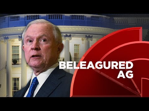 Trump Looks To Replace Attorney General Jeff Sessions