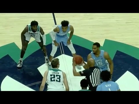 UNC vs UNC Wilmington 11/8/19 Full Game Recap