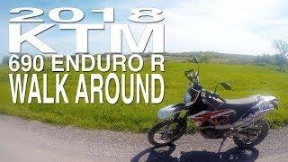 10. 2018 KTM 690 ENDURO R Walk Around