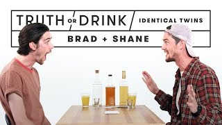 Video Identical Twins Play Truth or Drink (Brad & Shane) | Truth or Drink | Cut MP3, 3GP, MP4, WEBM, AVI, FLV Juli 2019