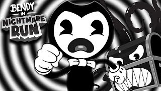 BENDY'S BACK FOR MORE CHAOS! || Bendy In Nightmare Run