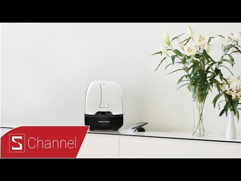 Mở hộp Loa Harman/kardon Aura: Thiết kế tinh tế, công nghệ độc đáo