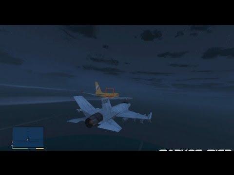 Misterios GTA V   ¿A donde van los Aviones?