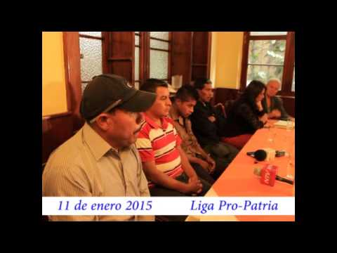 "Video. ""Conferencia de víctimas de San Pablo (2 de 2)"" (11 ene 2015)"