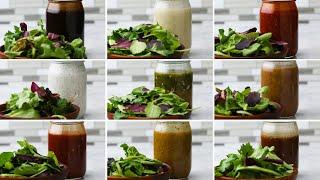 Mason Jar Salad Dressing 9 Ways by Tasty