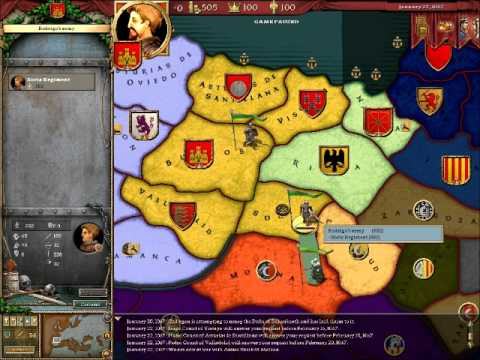 Crusader Kings 1 Complete (CD-Key, Steam, Region Free) Gameplay