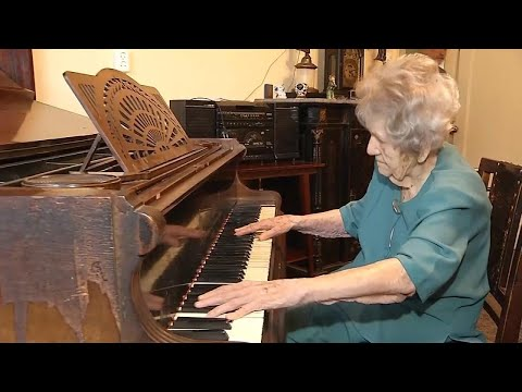 Is Playing Piano the Secret to 108-Year-Old's Long Life?