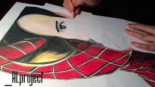 Spiderman 2  drawing (Time Lapse)