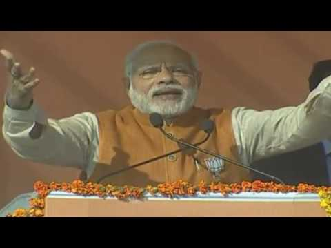 PM Shri Narendra Modi addresse public meeting in Rudrapur, Uttarakhand : 11.02.2017