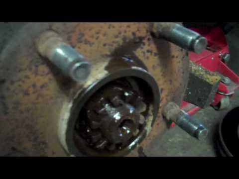 Dodge Ram Wheel hub bearing wheel joint repair how to 4×4