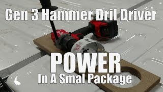 "3. Milwaukee Gen 3 M18 FUEL 1/2"" Hammer Drill/Driver Review 2804-20 Vs Dewalt DCD997"