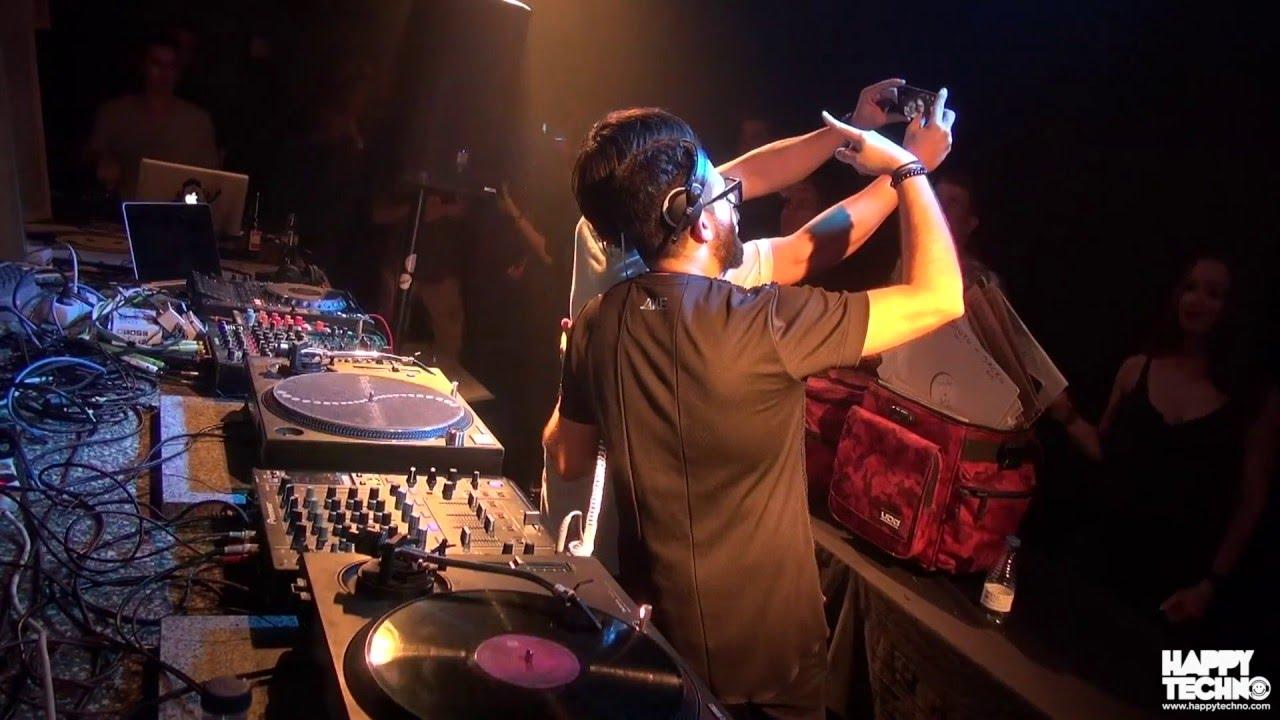 Mihalis Safras - Live @ Happy Techno, City Hall, Barcelona 2015