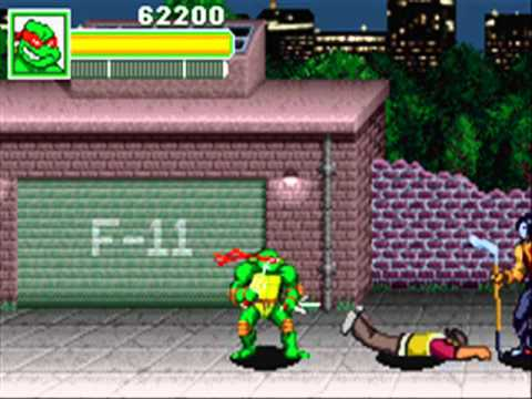 Teenage Mutant Ninja Turtles GBA