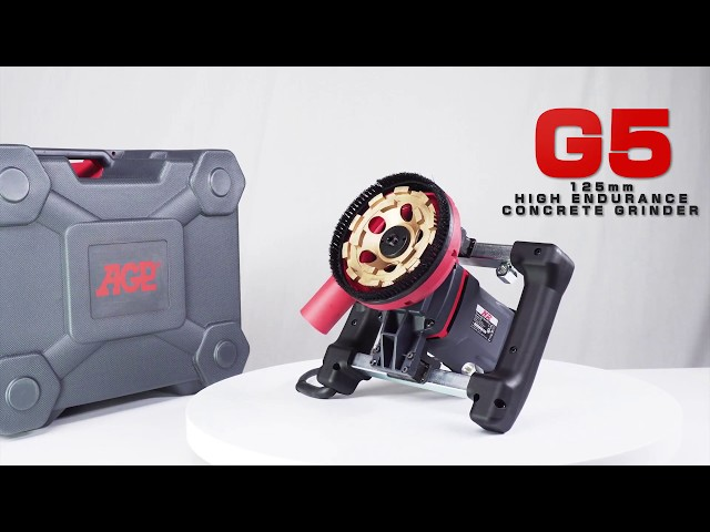 AGP G5 125mm High Endurance Concrete Grinder - overview