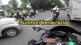 Video #9 |#Motovlog| Sunmori Di Hadang Razia MP3, 3GP, MP4, WEBM, AVI, FLV Juni 2018