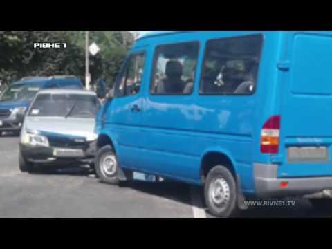 У Дубно  внаслідок ДТП постраждало двоє людей [ВІДЕО]