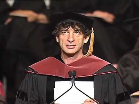 speech - Neil Gaiman Addresses the University of the Arts Class of 2012 One of the best commencement speeches. A must watch for any artist and everyone who hopes to b...
