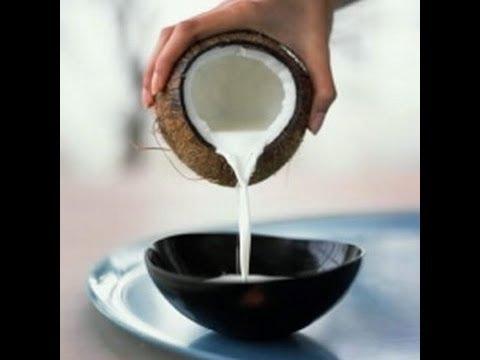 Hidronutrição de leite de coco