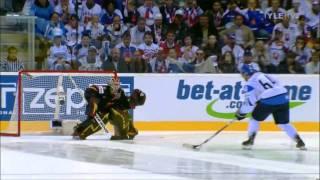 Jääkiekon MM 2011 Suomi - Saksa [FIN-GER] Rankkarikisa [HD]