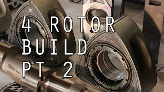 Porting Housings and Rotors: Turbo 4 Rotor RX-7 Build Ep. 2 by Rob Dahm