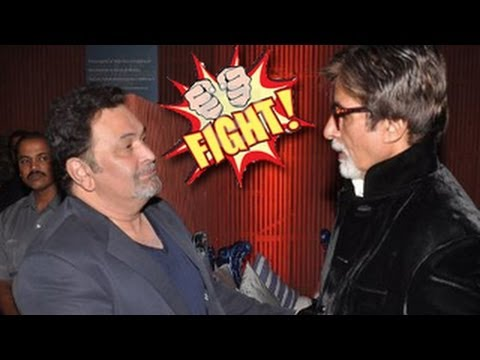 Amitabh Bachchan & Rishi Kapoor FIGHT over a girl