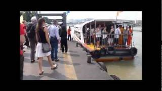 Sail With Boat Public Transport, Chao Phraya River Bangkok-Thailand.