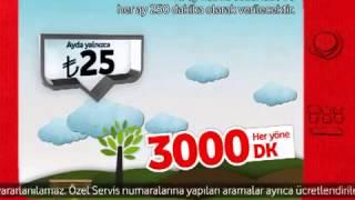 Vodafone Reklamı - Faturalı'da rahat rahat konuşmak #iştebukadarkolay
