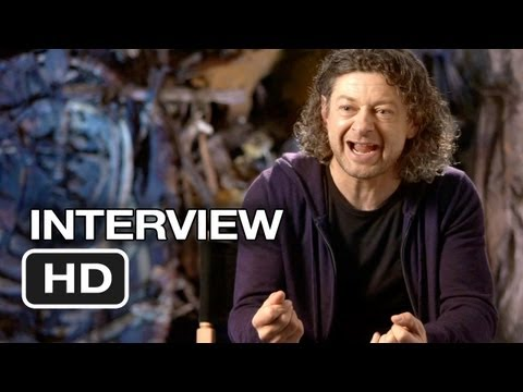 Adny Serkis - Subscribe to TRAILERS: http://bit.ly/sxaw6h Subscribe to COMING SOON: http://bit.ly/H2vZUn The Hobbit: An Unexpected Journey - Andy Serkis Interview - Gollum...