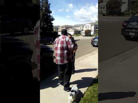Exclusive Video of Police in Suisun Ca Harassing Big Rich & Family