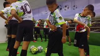 Thai cave boys play football with their rescuers