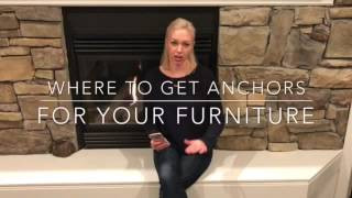 I've been getting a lot of questions about where to get dresser anchors. Here are some ideas on where to get them Instagram. Crewplustwo Facebook group. Crewplustwo Contact. Crewplustwo@gmail.comYouTube. https://youtu.be/EtsrIpeMIkE