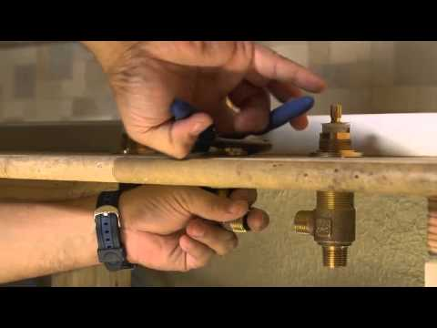 Installing a 2-Handle Roman Tub Fuacet – Pasadena Collection